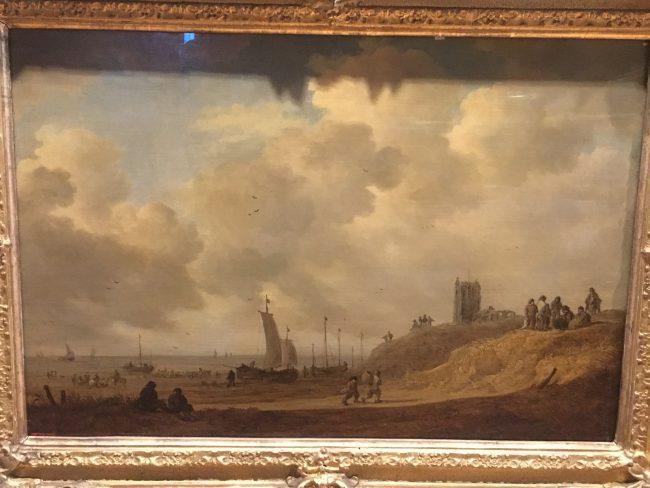 Dutch Pictures in the Herm: Jan van Goyen, The Shore at Egmond-op-Zec