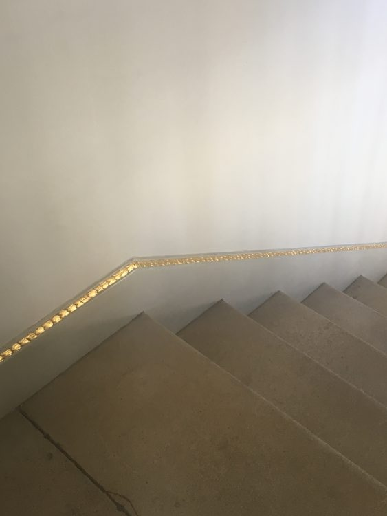 They even Gilded the Skirting Board