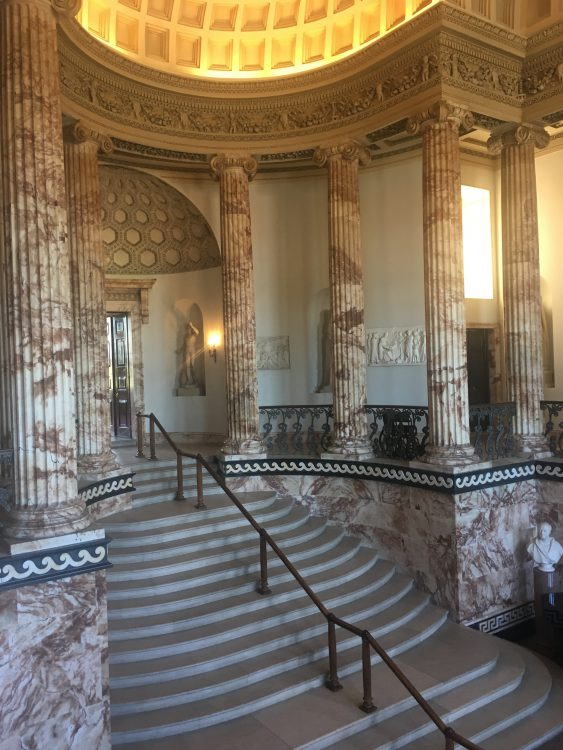 The Entrata at Holkham, Surely Unrivalled in England, of World Stature, Easily in Complexity with the Staircase Hall of the Laurentian Library in Firry by Michelangelo