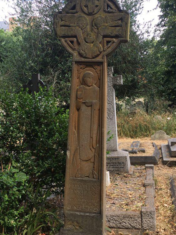 Emmeline Pankhurst: Her Grave