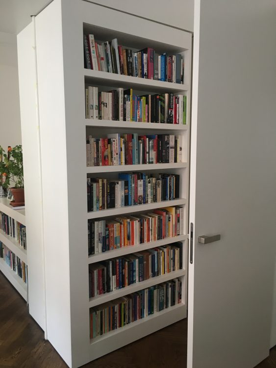 The Great Hydraulic Moving Bookshelves of Prague