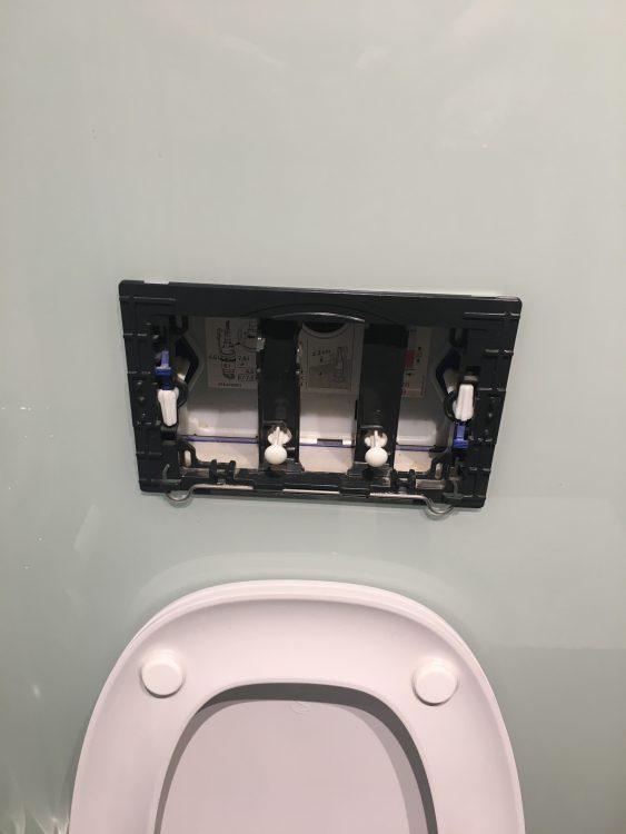 Missing Toilet Flush Panel: Builder has it but Won't Return
