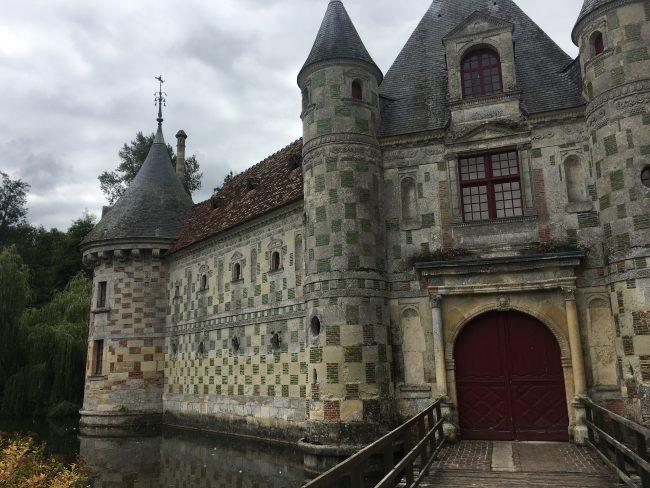 Château de Saint-Germain-de--Livet: what a Gem. Lovely Patterns