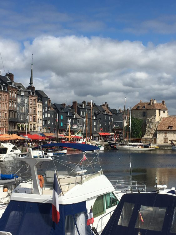 We Visit Honfleur and Lunched