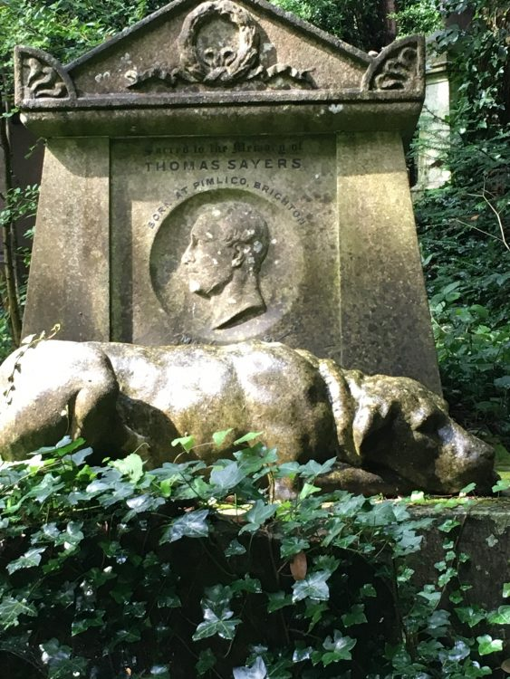 The Tomb of Thomas Sayers, 1826-65, the Last of the Bare-Knuckle Prizefighters