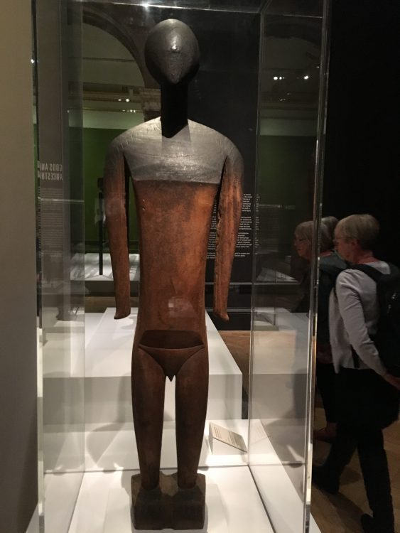Bruncusi and Picasso Admired this One: Blackened Shoulders is Where Worshippers Rubbed in Oil