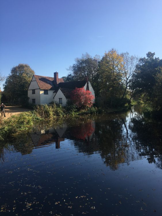 Flatford Mill: the scene of the Haywain. Can you Make it Out?