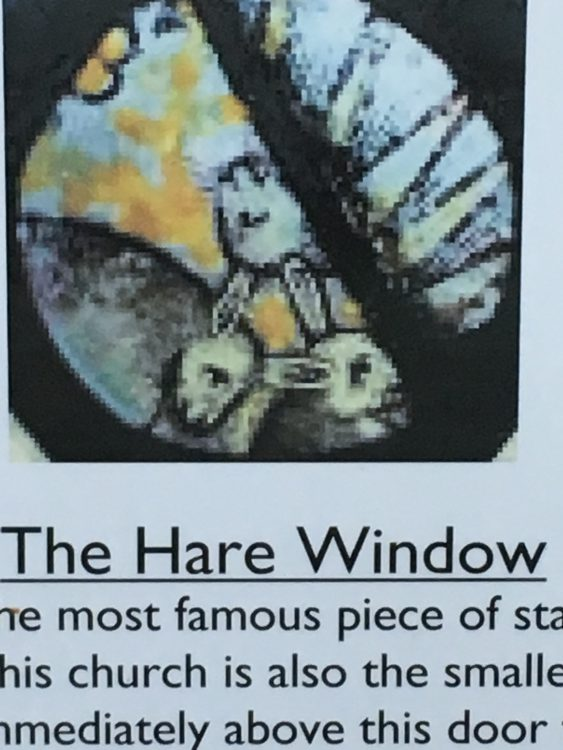 The Hare Window at Last: Long Melford