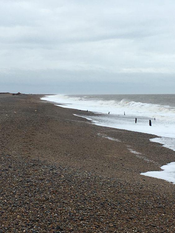 Beach at Cley:  Sensational Bleak
