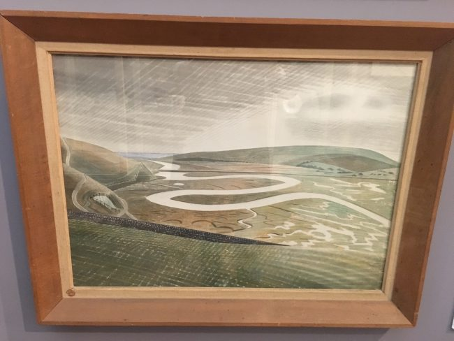 Eric Ravilious at the Towner Gallery
