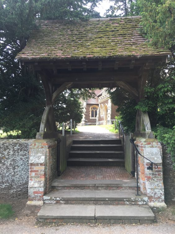 Sandringham Parish Church: How Well We Know that Gate
