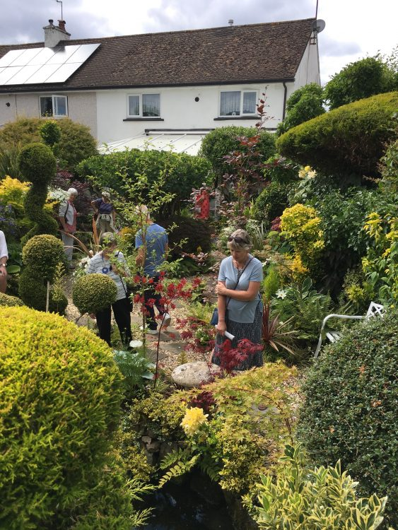 Usk in Bloom: Green, Gold and White Garden. A Triumph of