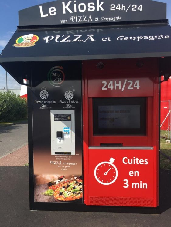 The New Norman Pizza Dispenser