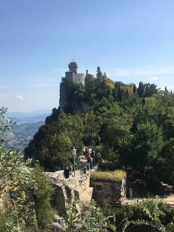 San Marino: the Fortifications