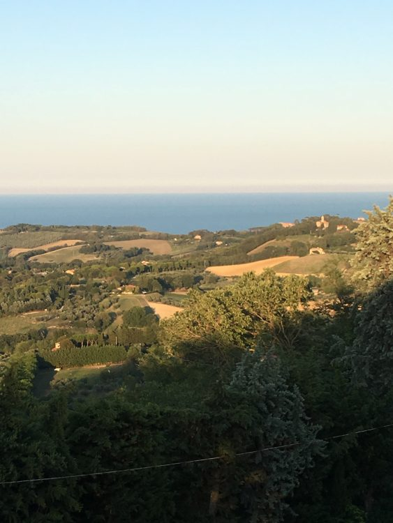 Nice Views near Pesaro in the Marche