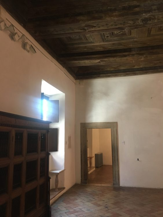 Raphael's Drawing Room with Wooden Ceiling