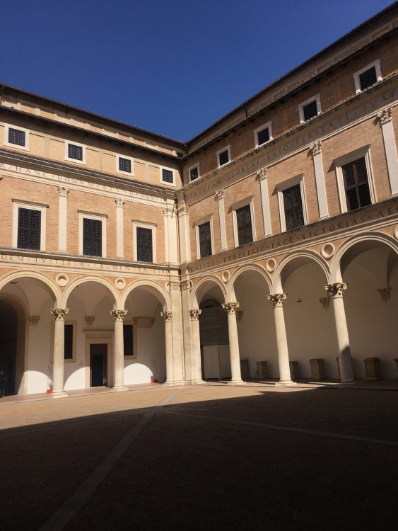 Unbearable Greatness: the Courtyard the Ducal Palace at Urbino