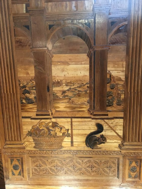 The Inlay Work in the Duke's Study: Heaven