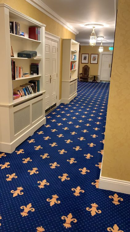 Barberstown Hotel Corridor - a bit of Giveaway