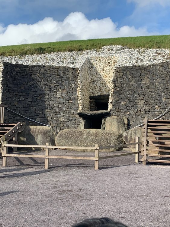 New Grange: the Sacred Entrance which isn't Easy to Enter Through Deliberately