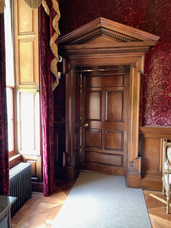 Russborough: a Cosy Corner: Glorious Woodwork