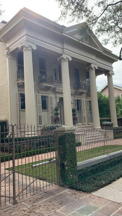 Mansion of St Charles Avenue: the hand of Farrow and Ball?