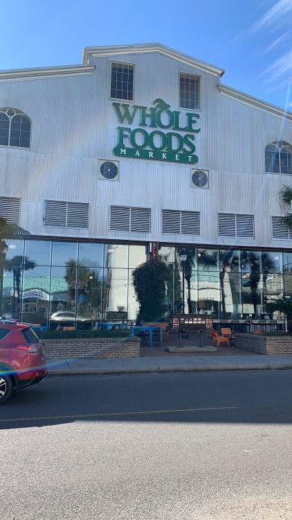 Whole Foods on the Way