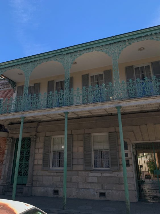 The Gaillier House: Street Front does not Convey what is Within