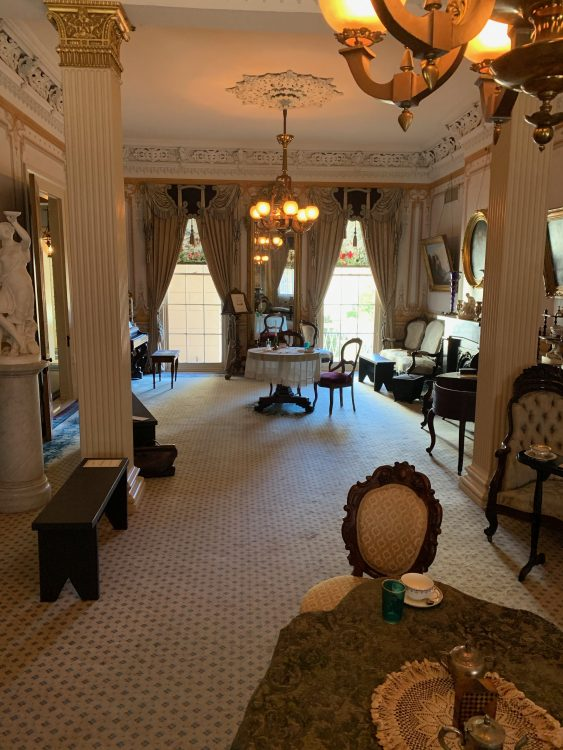 Gaillier House: Through-Drawing Room