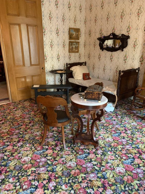Gaillier House: Upstairs Carpet: Want It