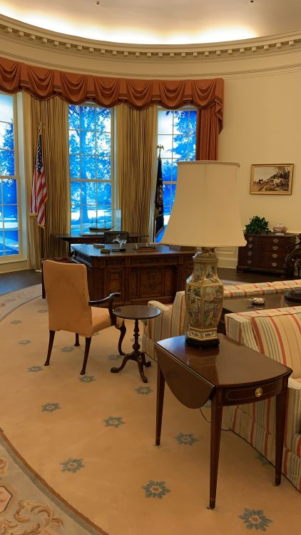 In the Oval Office at Last