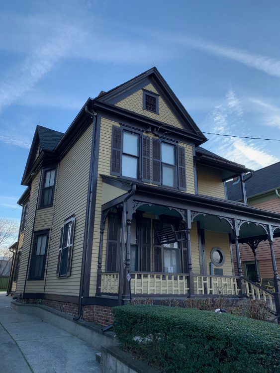 The Martin Luther King Birth Home, Atlanta, Georgia. You have to Understand that the House is Narrow but Deep. It Goes Back a Long Way