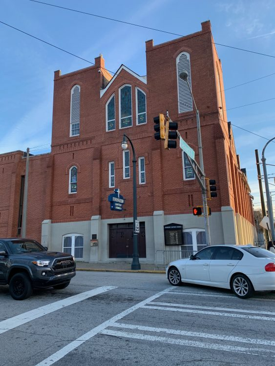 The Old Ebenezer Baptist Church, Where Martin Luther King's Funeral was Held in 1968