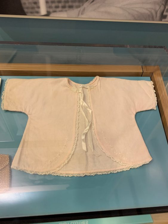 The Baby Cardy Made by Lurlene Carter
