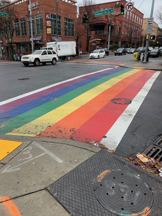 The Gay District of Atlanta