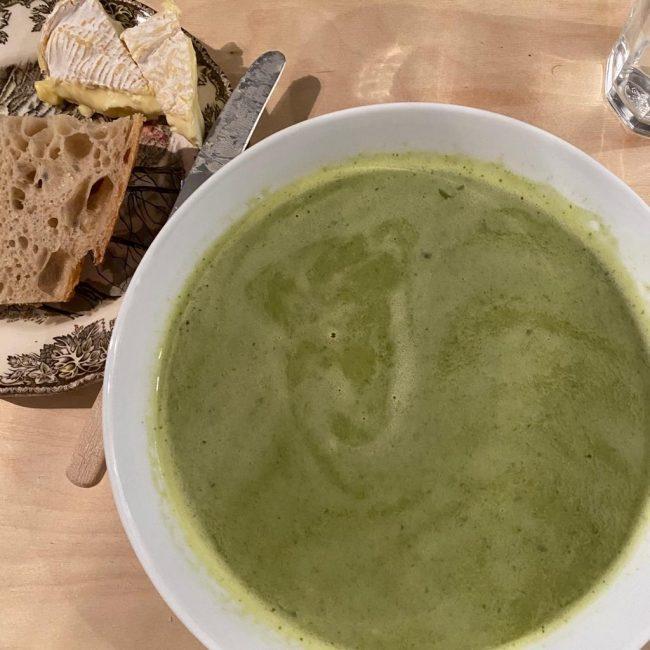 Joshua Baring's Lettuce Soup