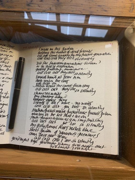 Derek Jarman: Handwriting of a Designer