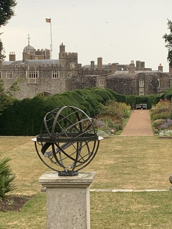 Walmer Castle, where the Queen Mother was in Residence for at least 3 Weeks every Summer as Warden