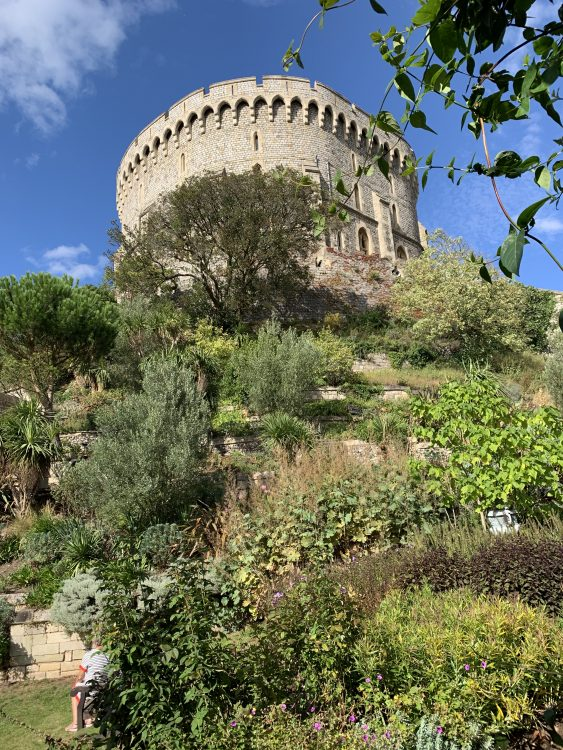 The Round Tower Garden made by Sir Digton Probyn