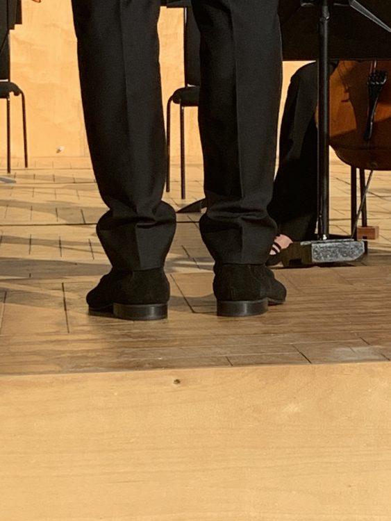 Robin Ticciati: His Shoes