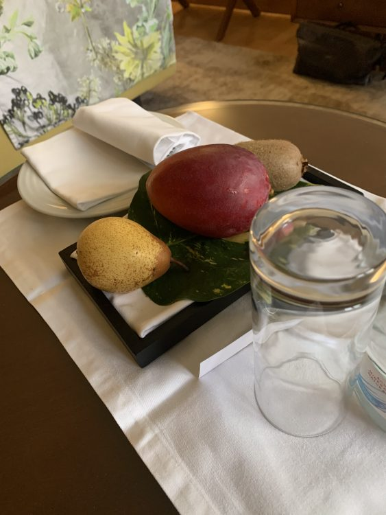 A Treatment offered in the Hotel Room, Madeira
