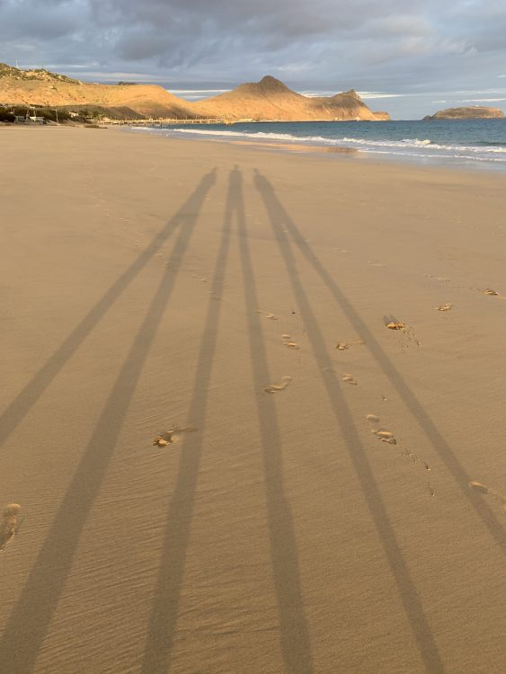 Three-Personed God: The Beach at Porto Santo