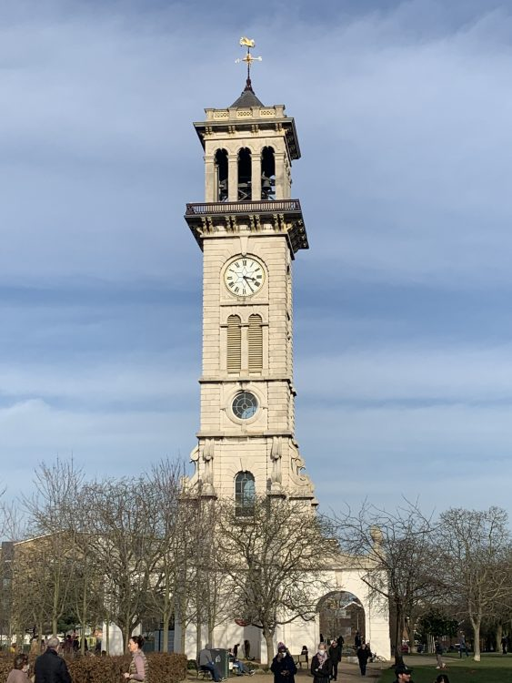 Caledonian Park Clock Tower, Restored by Royston King