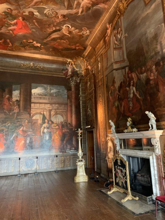 Burghley House: Swirly Interior