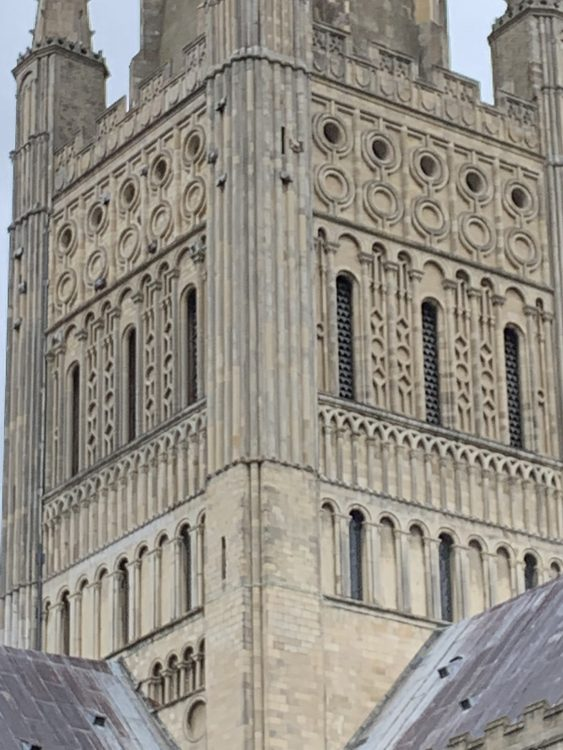 Strange Patterns on the Spire of Norwich Cathedral: Secret Signals?
