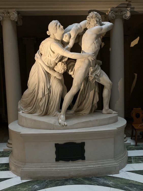 The Fury of Athamas by Flaxman. Very Worrying