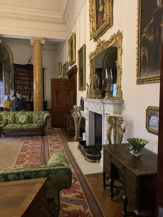 Ickworth - Just one Room Open.