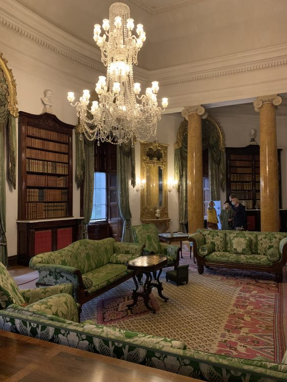 The Only Room at Ickworth we Could See. Pillars in the Drawing Room says it All