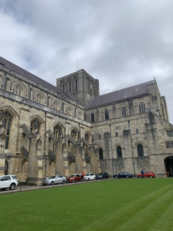 Winchester Cathedral: Manx style