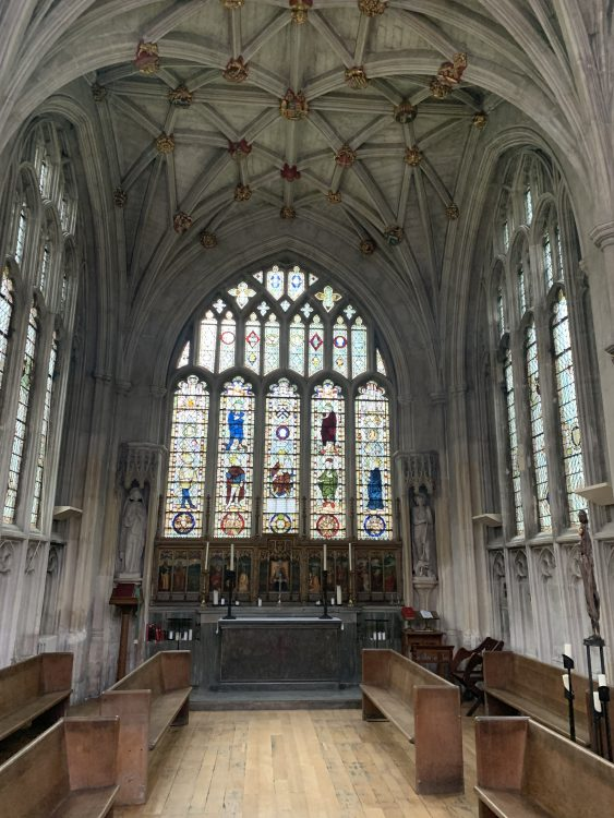 Winchester College: The Other Chapel